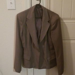 Express double breasted coat